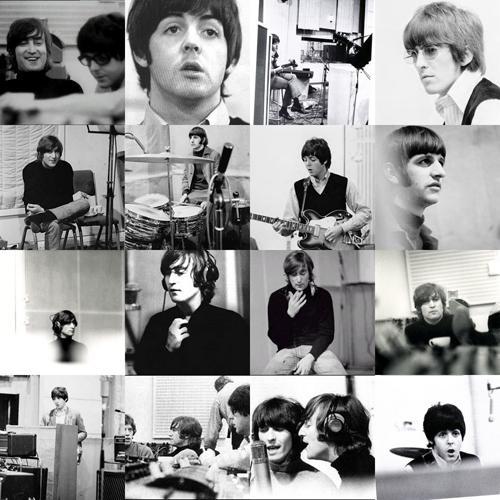 Beatles a Revolver felvételei közben